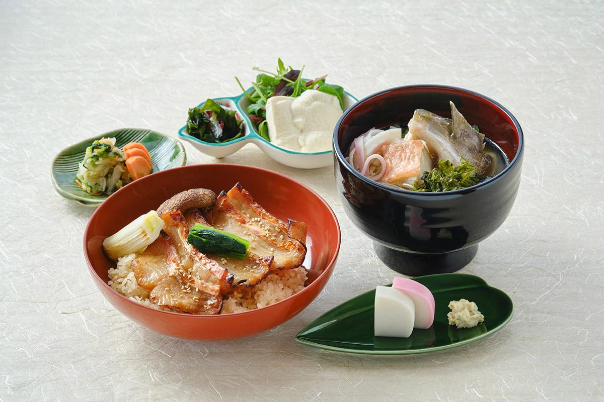 江の浦店限定ランチ「金目鯛の炙り飯と漁師のあら汁御膳」熱海・湯河原のドライブへ行こう