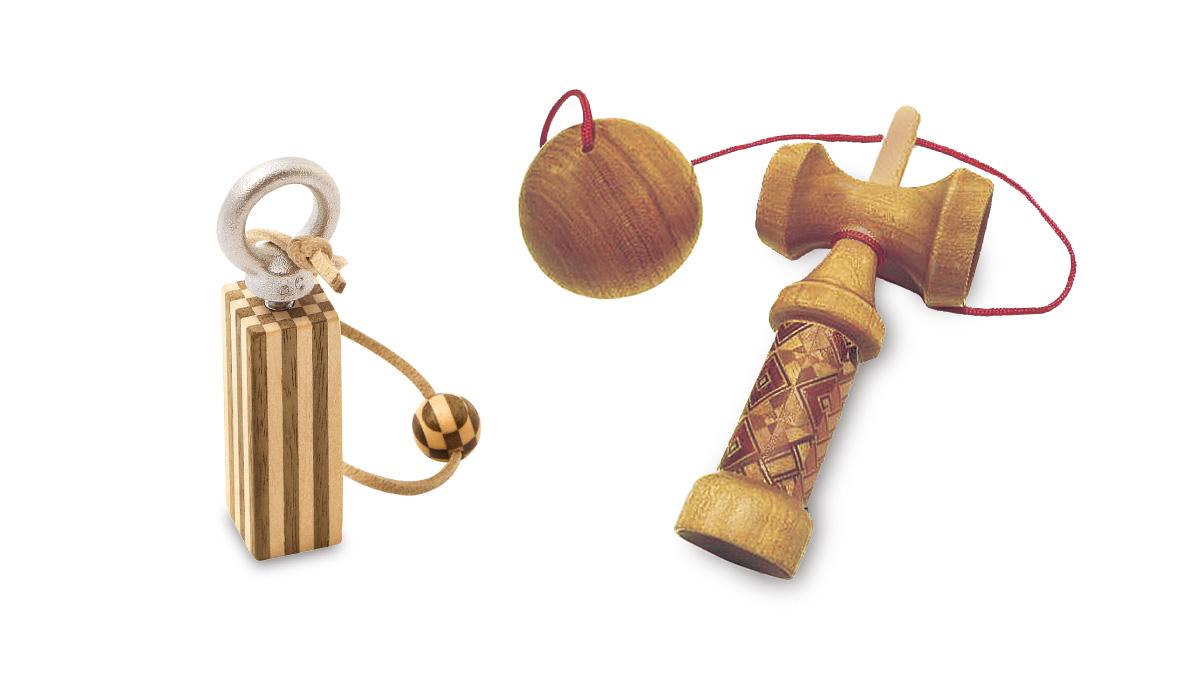 【体験】寄木細工でおもちゃをつくろう