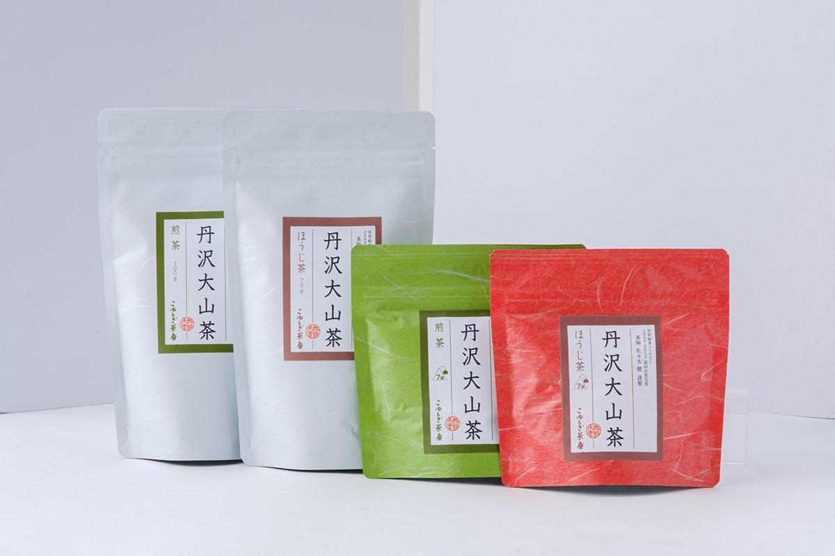 取り寄せの品⑥ 茶師佐々木健氏の丹沢大山茶 煎茶とほうじ茶