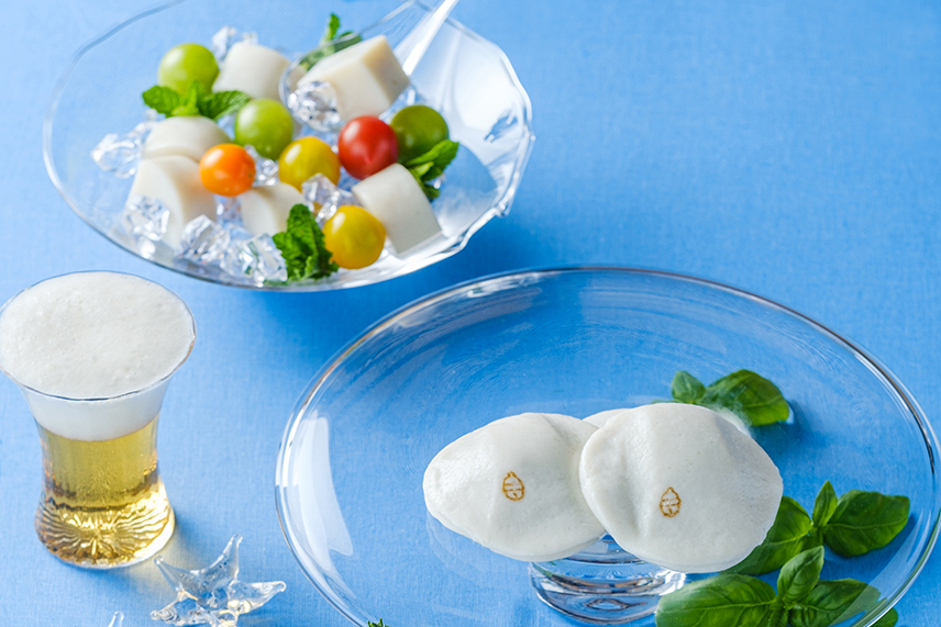 夏のテーマ「ガラスで涼を呼ぶ食卓」