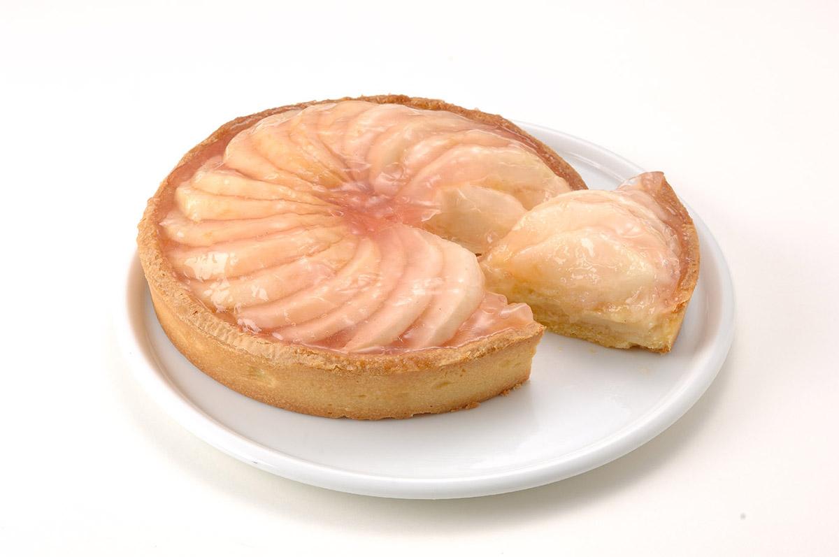 汐風カフェ8月限定スイーツ「桃のタルト」と「マンゴー&ココナッツのシフォン」